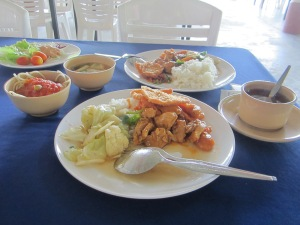 Our lunch at Phi Phi Don